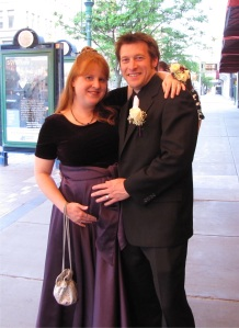 Pregnant at the Prom--downtown to chaperone the MPH year-finale